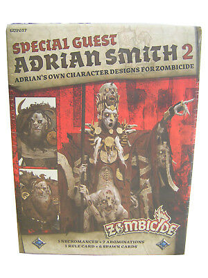 Zombicide Green Horde Adrian Smith 2 Special Guest Box