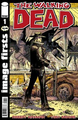 1 The Walking Dead comic book Image Firsts  #1 32-page ROBERT KIRKMAN  2017 NEW