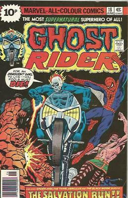 GHOST RIDER (1973) #18 - pence copy - Back Issue (S)