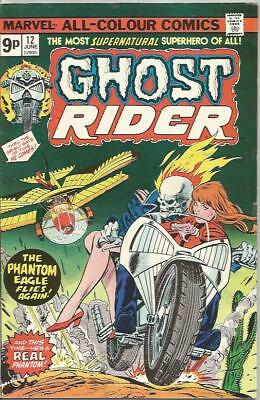 GHOST RIDER (1973) #12 - pence copy - Back Issue (S)