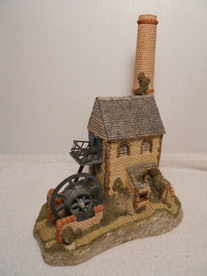 "Collectible 1987 ""David Winter"" Cornish Engine House Figurine"