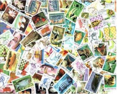 Afghanistan Stamp Collection - 100 Different Stamps