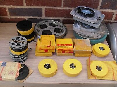 36 x reels 8mm cine movie film 1960s amateur  unknown content holidays? home