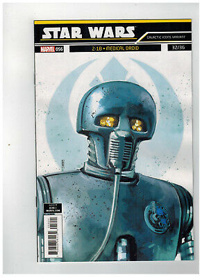 STAR WARS #56  1st Printing - Galactic Icons Variant Cover  / 2019 Marvel Comics