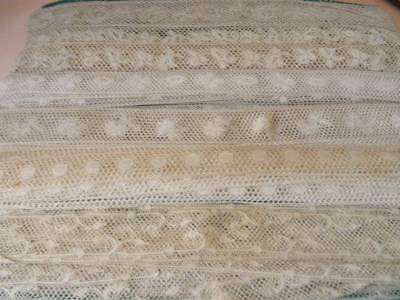 A Fabulous Collection Of Different Design Valenciennes Lace C.1900
