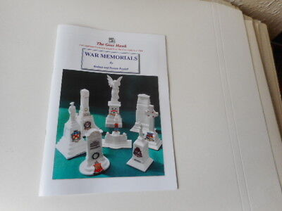 Illustrated booklet of all known Crested China WW1 War Memorials