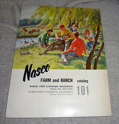 CIRCA 1960s  NASCO FARM AND RANCH CATALOG #101