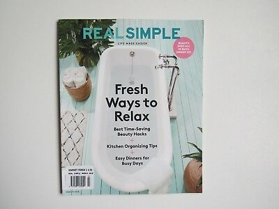 Real simple magazine March 2018 issue