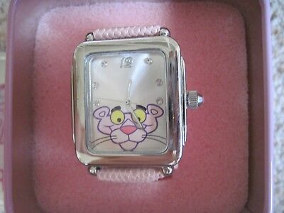 Rare 2007 Pink Panther Analog Quartz Wrist Watch Nos New Never Used