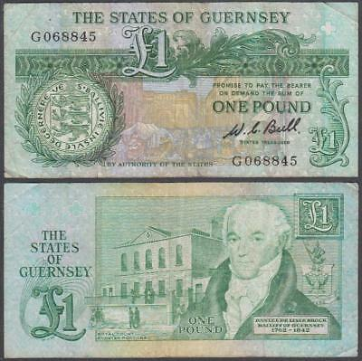 ND (1980-89) State of Guernsey 1 Pound