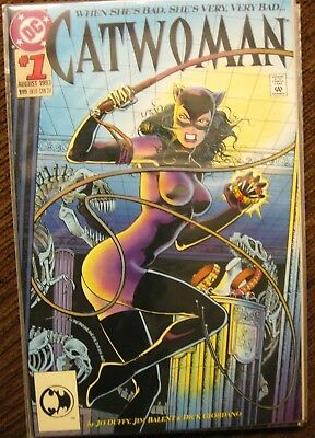 CATWOMAN #1 (first ongoing series, Bane, Knightfall, DC Comics) 1993