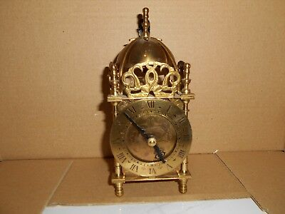 Vintage Smiths England  Brass Dome Carriage clock. Spares/Repair
