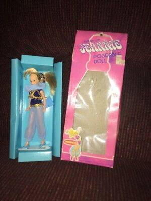 1977 REMCO I DREAM OF JEANNIE Poseable Doll In Original Box Package no. 708