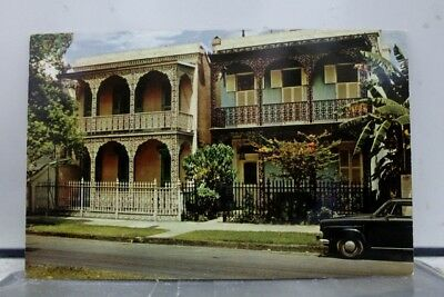 Louisiana LA Vieux Carre Homes New Orleans Postcard Old Vintage Card View Post