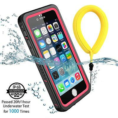 For Apple iPhone 6 6S Case Waterproof Shock/Snow proof Cover Screen Protector
