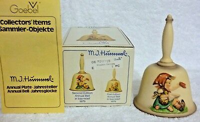 1979 Goebel Germany Hummel Bell 2nd Edition #701 with Box