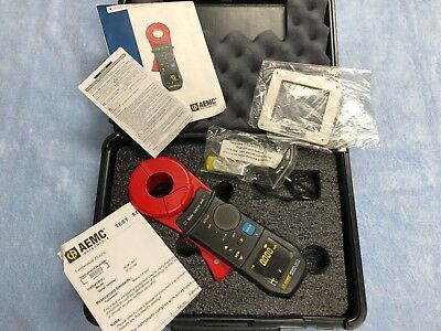 AEMC 6417 Clamp on Ground Resistance Tester with USB DataView and Case