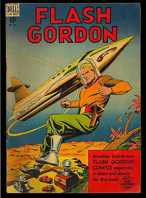 Four Color #204 (Flash Gordon) Nice Golden Age Dell Comic 1948 VG