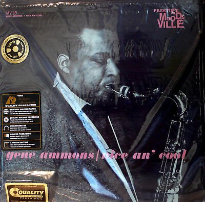 GENE AMMONS NICE an' COOL ANALOGUE PRODUCTIONS APRJ-18 33RPM 200G