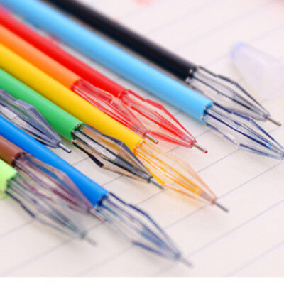 Diamond Gel Pen School Supplies Draw Colored Pens 12Pcs set Candy Color Hot