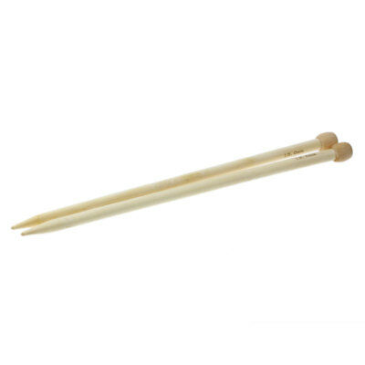 "Bamboo Single Pointed Knitting Needles( US Size 17/12.0mm ) 34cm(13 3/8"") long"