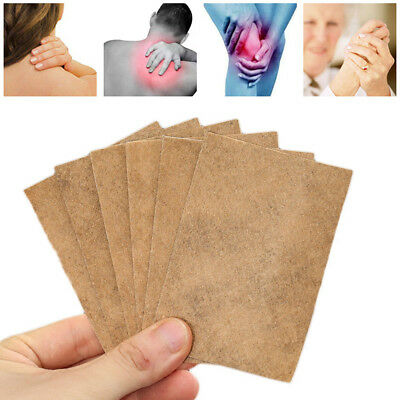 Ginger Detox Patch Pads Body Neck Knee Herbal Pain Relief Treatments Health Care