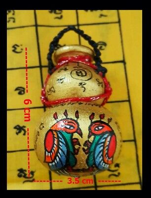 Thai Amulet Charming Calabash Salika Lucky Money Business By Lung Phor Lua No.4