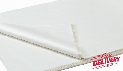 White Acid Free Tissue Wrapping Paper Size 450 X 700Mm 18 X 28""