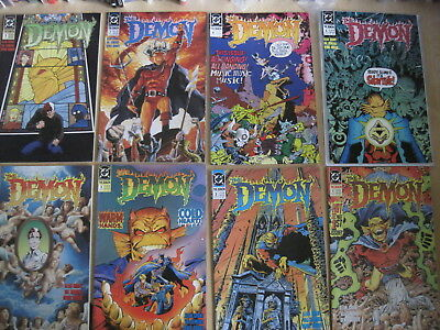 The DEMON, DC 1990 SERIES : COMPLETE RUN issues 1 - 39 by GRANT,SEMEIKS etc.LOBO