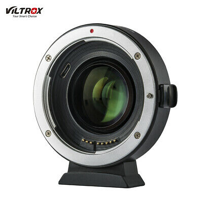 NEW Viltrox EF-EOS M2 Auto Focus Lens Mount Adapter 0.71X for Canon EF to EOS