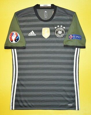 071c1d1879ac 5+ 5 Germany 2016~2017 Adidas Football Away Jersey Shirt Adizero Player  Issue