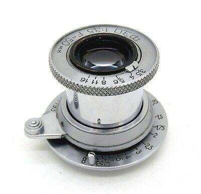 Superb Russian FED 50mm F3.5 Collapsible Leica Elmar Copy L39 Screw Mount