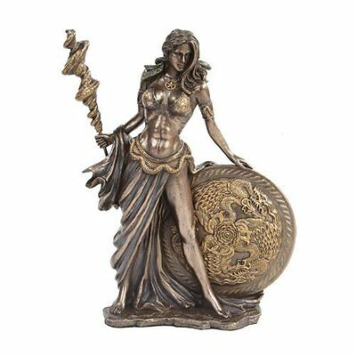 Norse Paganism Mythology Goddess Frigg Frigga Diety Wife of Odin Statue Figurine