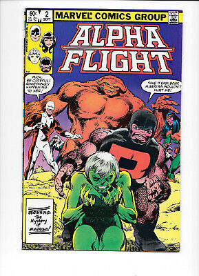 Alpha Flight #1-5 7 10 1983 -1984 Marvel Comics FREE BAG/BOARD [Choice]