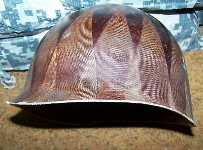 M-1 Helmet Liner, Capac 52, Liner Convered For Child's Toy, U.s. Issue *nice*