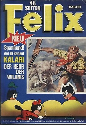 Felix Nr.840 von 1975 mit Kalari + Black Beauty - TOP Z1 BASTEI COMICHEFT