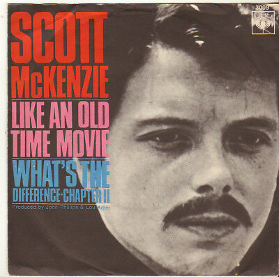 """Scott McKenzie """" Like An Old Time Movie / What's The Difference Chapter II"""" 1967"""