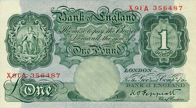 Bank of England Great Britain  1 Pound    EF - AU
