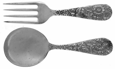 Kirk Stieff REPOUSSE STERLING (S.KIRK & SON,INC.) 2 Piece Baby Set 6544938
