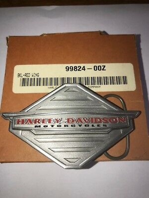 Harley Davidson Red Wing Collectible Belt Buckle