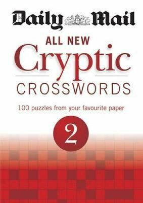 Daily Mail: All New Cryptic Crosswords 2 by Daily Mail 9780600626572