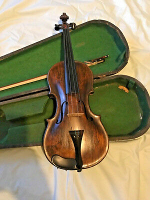 ANTIQUE VIOLIN very old, no label FRENCH or GERMAN?
