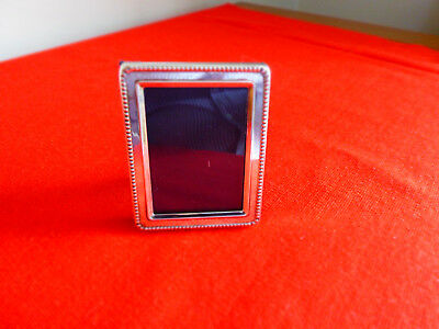 """Small Sterling Silver 925 Frame ~  By R Carr Ltd Sheffield 2010 ~ 2 """" X 2 1/2 """""""