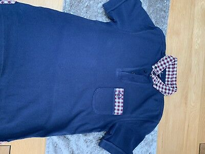 Boys Fred Perry polo shirt size M youth age 11/12 years.