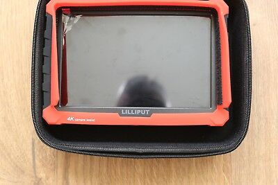 Lilliput A7s 7-inch 1920x1200 Field Monitor 4K HDMI lots of extras batteries etc