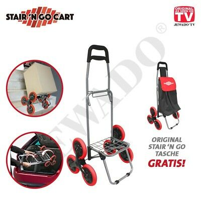 Stair ´N Go Cart Foldable Trolley with Bag for All- Original of Tv Advertising