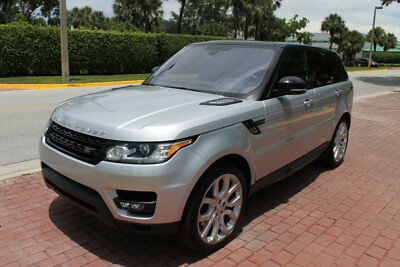 2016 Land Rover Range Rover Sport RANGE ROVER SPORT DYNAMIC SUPER CHARGED! FRONT CLIMATE COMFORT & VISIBILITY PKG, ADAPTIVE HEADLIGHTS, HEATED REAR SEAT!!!