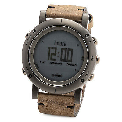 SUUNTO SS021216000 Unisex Essential Steel Digital Display Outdoor Watch