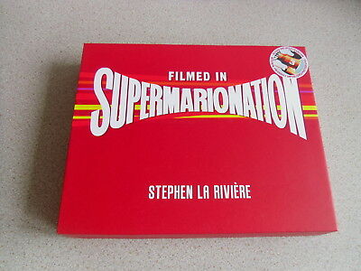 Filmed In Supermarionation Deluxe Hardback Book New
