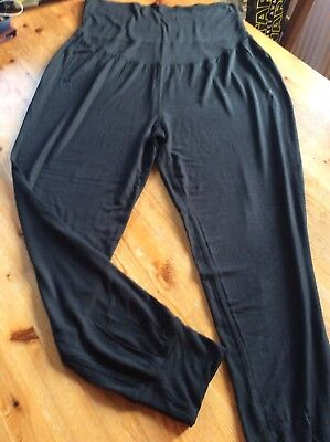 Ladies Casual Soft Maternity Trousers Leggings Size 18 Mamas & Papas